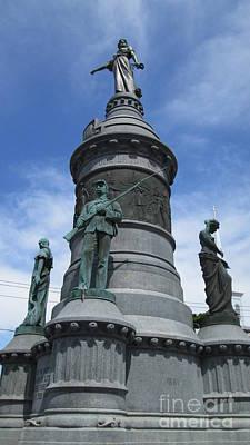 Oneida Square Civil War Monument Poster by Peter Gumaer Ogden