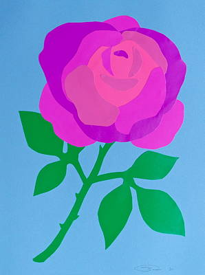 Only A Paper Rose Poster