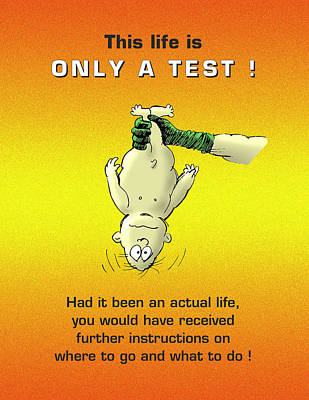 Only A Test Poster