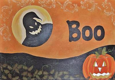Oogie Boogie Boo Poster by Cindy Micklos