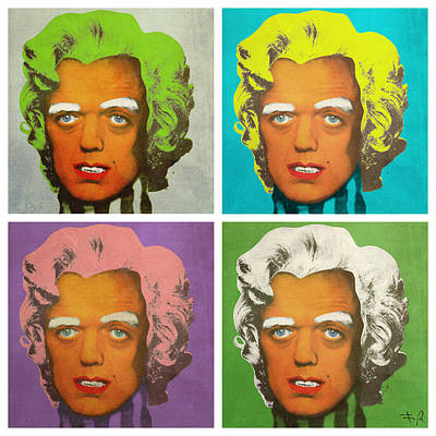 Oompa Loompa Set Of 4 Poster by Filippo B