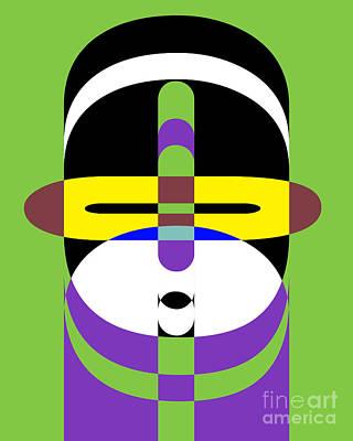 Pop Art People 2 Poster by Edward Fielding
