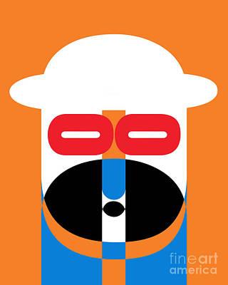 Pop Art People 1 Poster by Edward Fielding