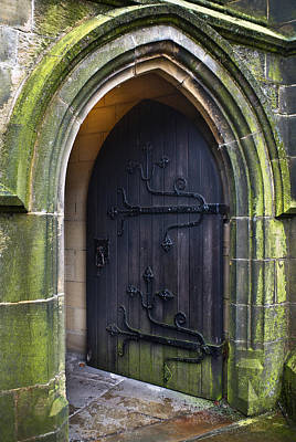 Open Church Door Poster
