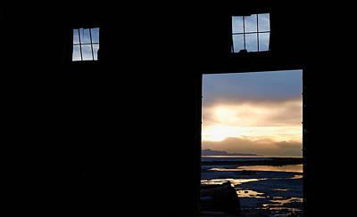 Open Door Sunset - A Great Salt Lake Sunset Poster by Steven Milner