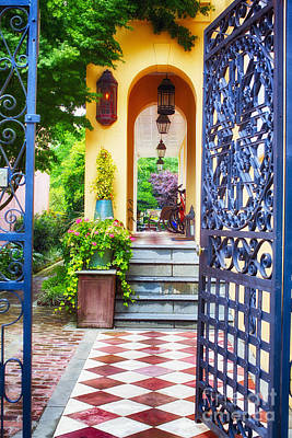 Open Doorway To Southern Living Poster