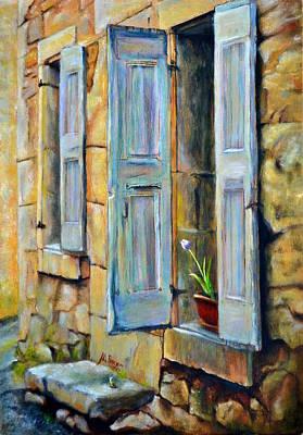Open The Door Poster