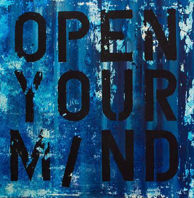 Open Your Mind Poster by Salomon  Cohen