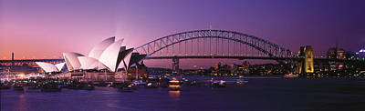 Opera House Harbour Bridge Sydney Poster by Panoramic Images