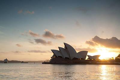 Opera House - Sydney Poster by Matteo Colombo
