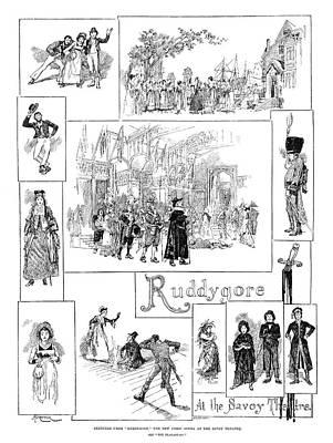 Opera Ruddygore, 1887 Poster