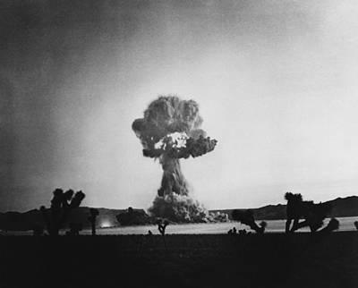 Operation Upshot-knothole Encore, 1953 Poster by Omikron
