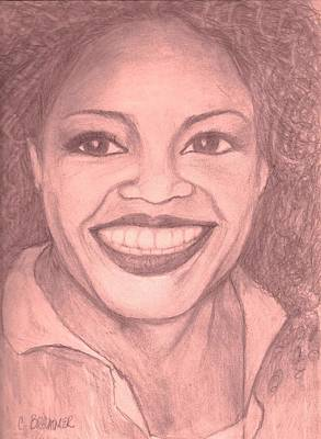 Oprah Poster by Christy Saunders Church