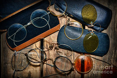 Optometrist - Vintage Eyeware Poster