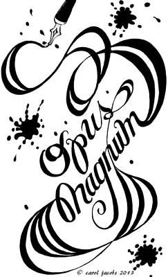 Opus Magnum Poster