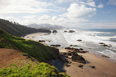 Or, Oregon Coast, Ecola State Park Poster