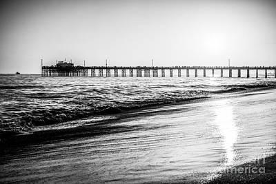 Orange County California Picture Of Balboa Pier  Poster