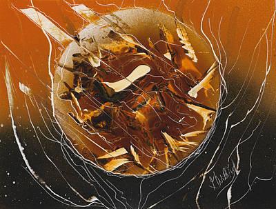 Orange Inferno Poster by Jason Girard