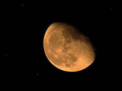 Orange Moon Poster
