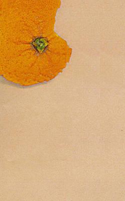 Orange Peel Poster