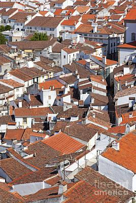 Orange Roofs Poster by Jose Elias - Sofia Pereira