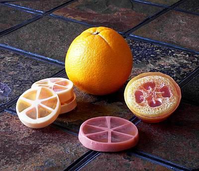 Orange Slices Soap Poster by Anastasiya Malakhova