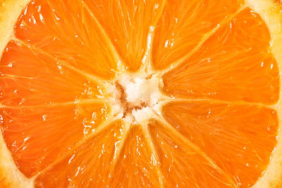 Orange  Poster by Tom Gowanlock