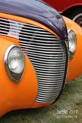 Orange V8 Poster