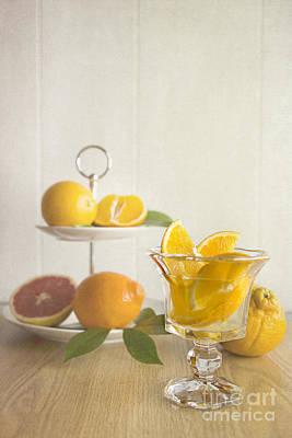 Orangeade 2 Poster by Elena Nosyreva