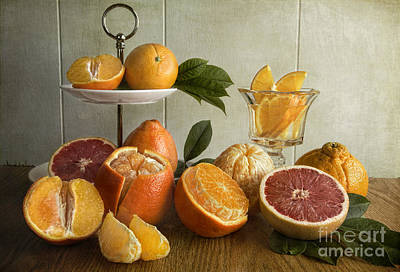 Orangeade Poster by Elena Nosyreva