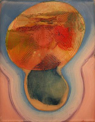 Geometric Orb Poster by Jeremy Johnson