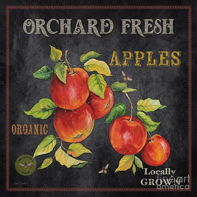 Orchard Fresh Apples-jp2638 Poster