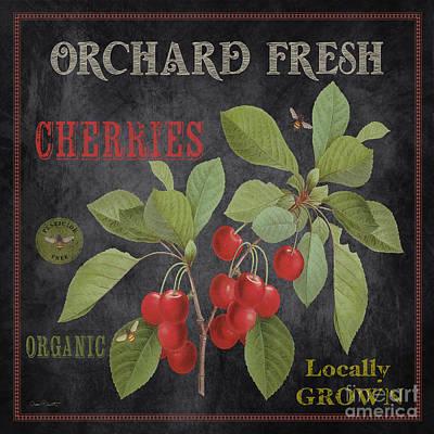 Orchard Fresh Cherries-jp2639 Poster