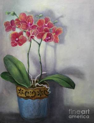 Orchid Still Life Poster by Randy Burns