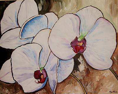 Orchids Poster by Rana
