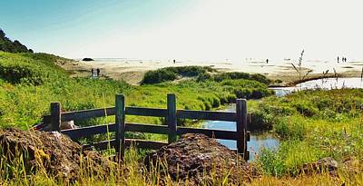Oregon Beach 1 Poster