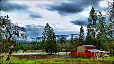 Oregon Farm Blessing Poster
