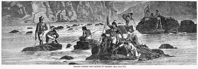 Oregon Fishing, 1868 Poster by Granger