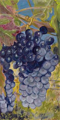 Oregon Grapes Poster