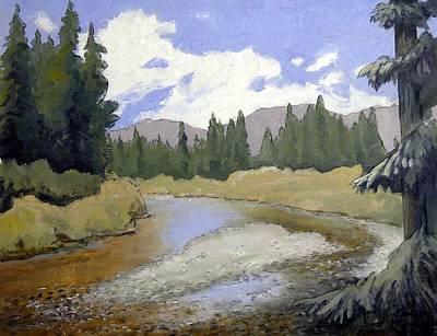 Oregon Landscape Number 127 Poster by Kenny Henson