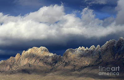 Organ Mountains New Mexico Poster by Bob Christopher