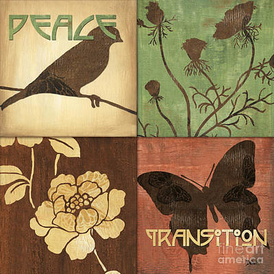 Organic Nature 1 Poster by Debbie DeWitt