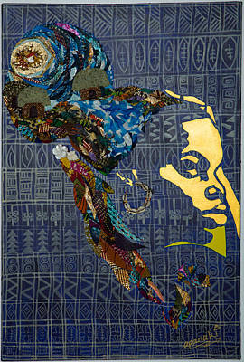 Poster featuring the tapestry - textile Ori Dreams Of Home by Apanaki Temitayo M
