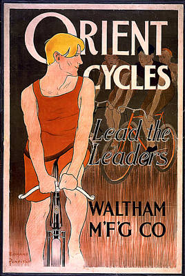 Orient Cycles 1890 Poster by Unknown