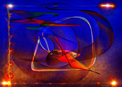 Origin Of Matter  Poster by Ramon Martinez