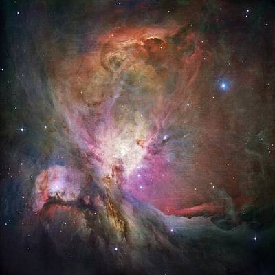 Space Hollywood 2 - Orion Nebula Poster by Marianna Mills