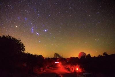 Orion Over Kitt Peak Observatory Poster by Babak Tafreshi