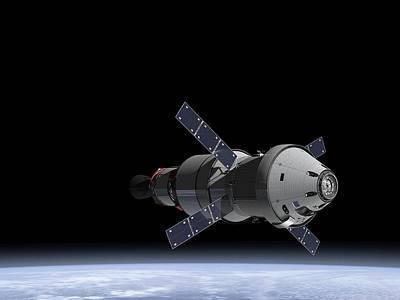 Orion Service Module Poster