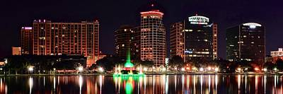 Orlando Panorama Poster by Frozen in Time Fine Art Photography