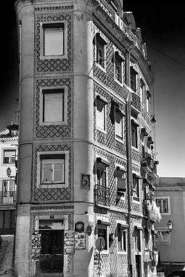 Ornate Apartment Block Poster